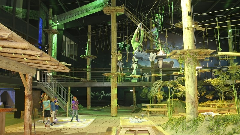 family entertainment center zip line